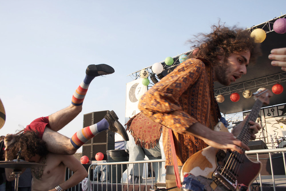 Monotonix, September 20, 2008, at the Hideout Block Party