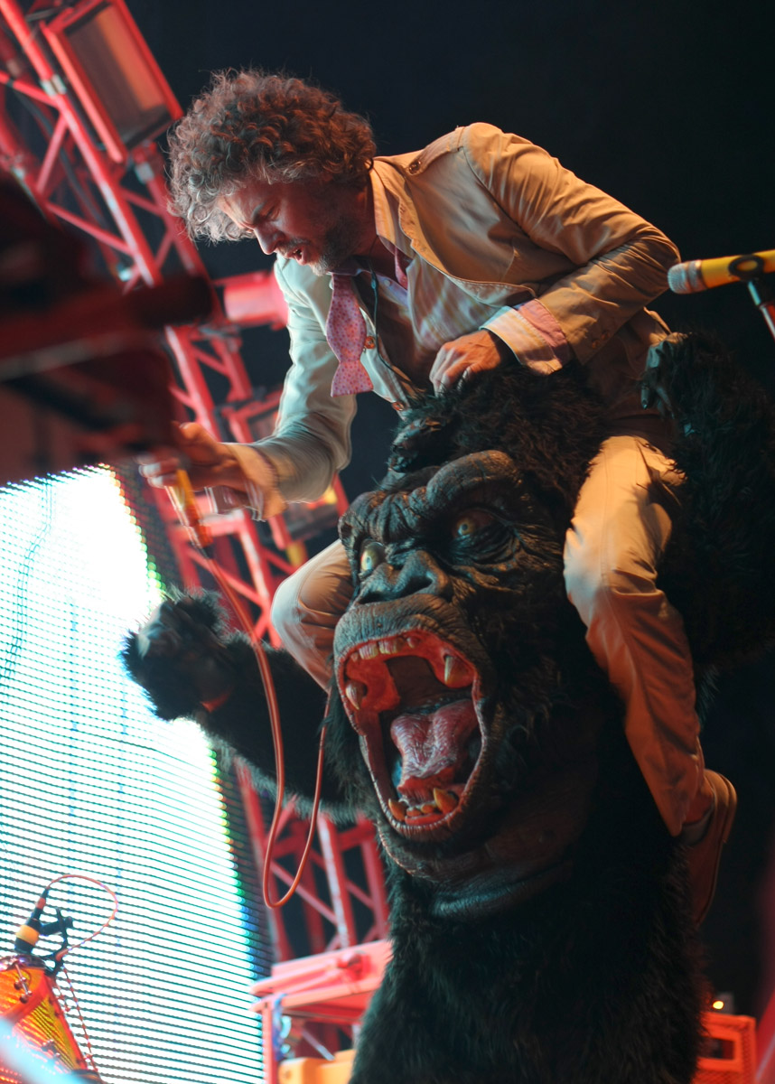 The Flaming Lips, July 19, 2009, at the Pitchfork Music Festival.