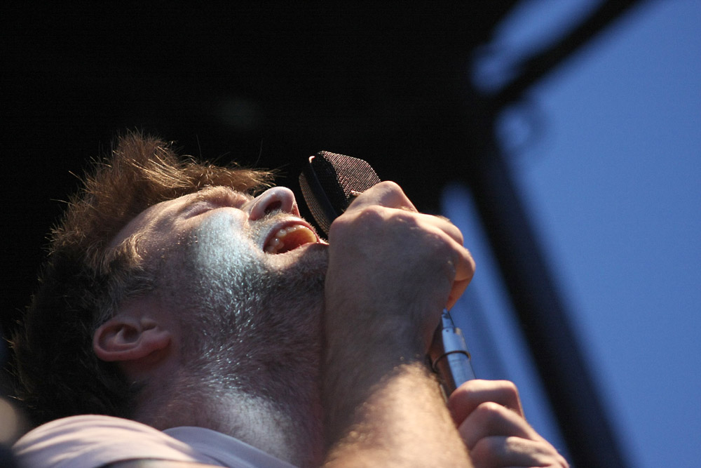 LCD Soundsystem, July 17, 2010, at the Pitchfork Music Festival