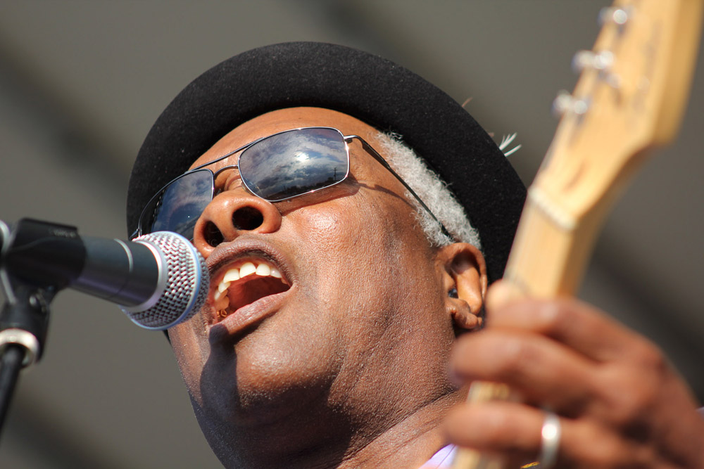 Booker T. Jones, September 24, 2011, at the Hideout Block Party