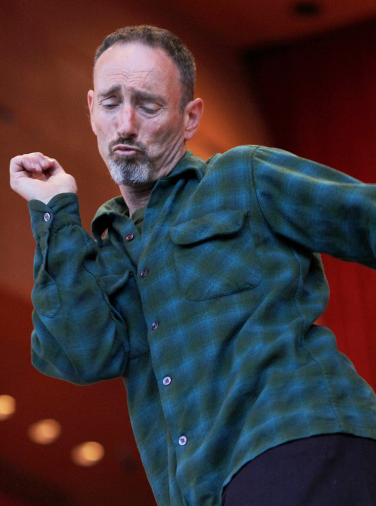 Jonathan Richman, June 4, 2012, at Millennium Park