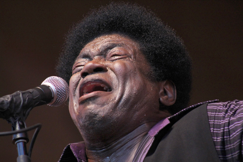 Charles Bradley, July 16, 2012, at Millennium Park