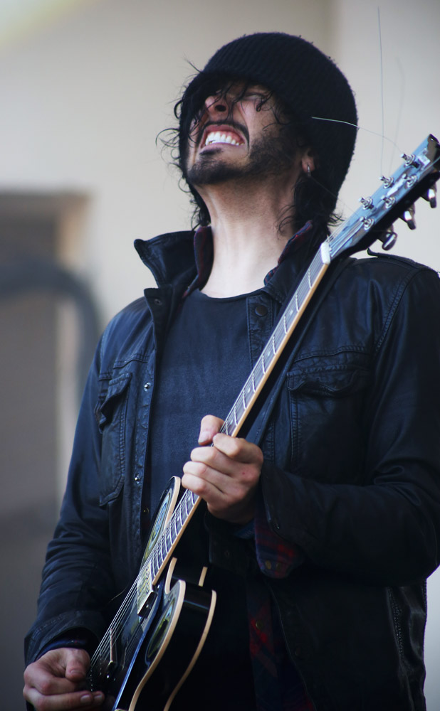 Reignwolf, August 3,  2013, at Lollapalooza