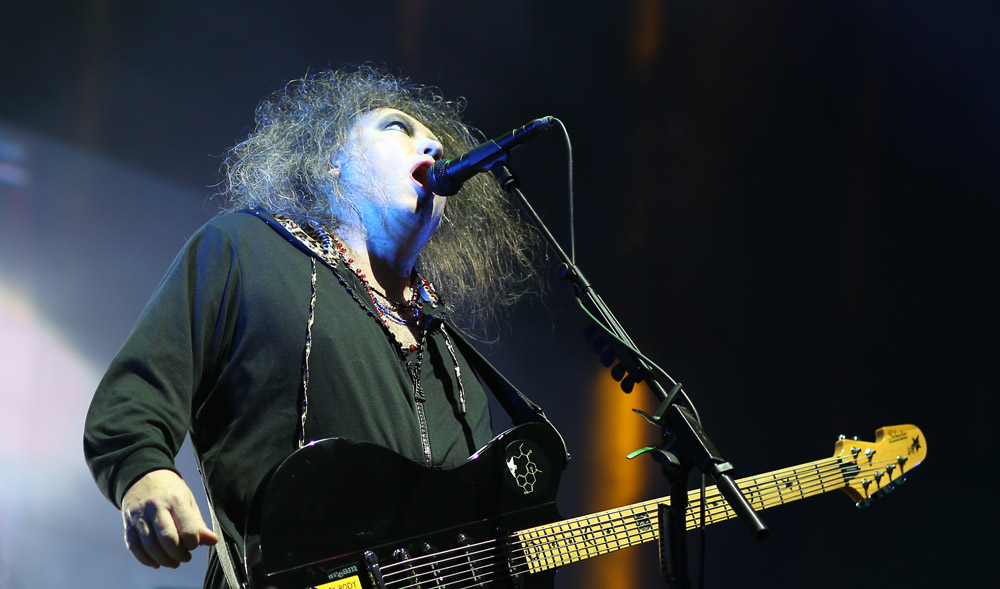 The Cure, August 4, 2013, at Lollapalooza