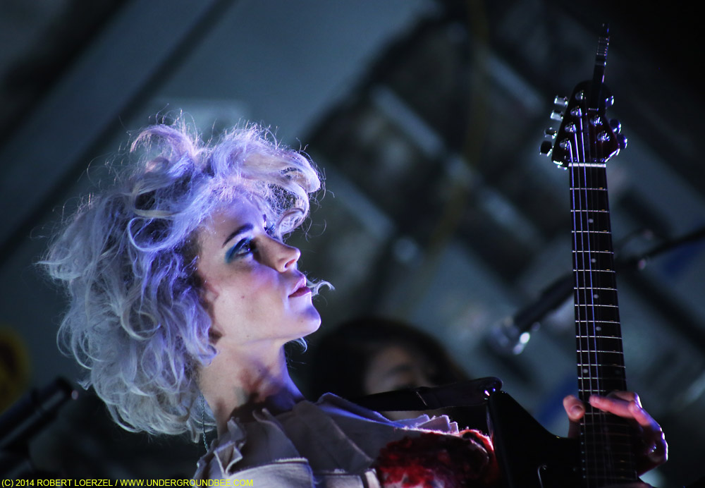 St. Vincent, March 12, 2014, at SXSW