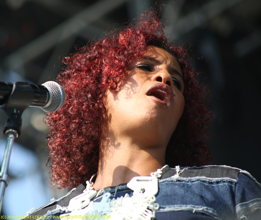 Neneh Cherry, July 18,  2014, at the Pitchfork Music Festival