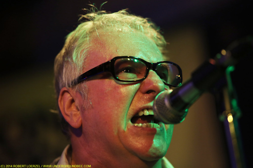 Wreckless Eric of the Len Bright Combo, September 26, 2014, at Gonerfest, Memphis